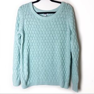 Old Navy Light Blue Oversized Sweater